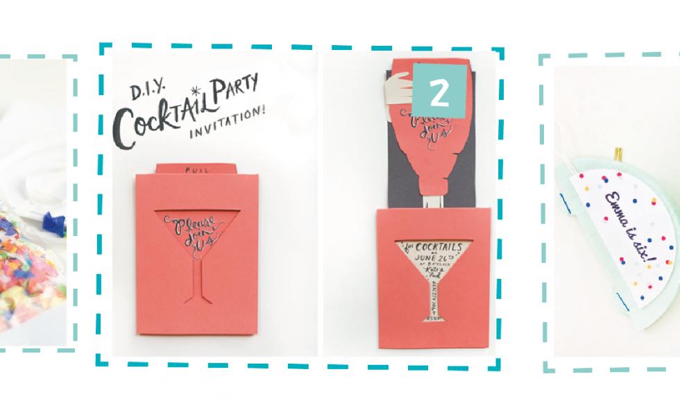 3 invitaciones para fiestas + resultado del concurso