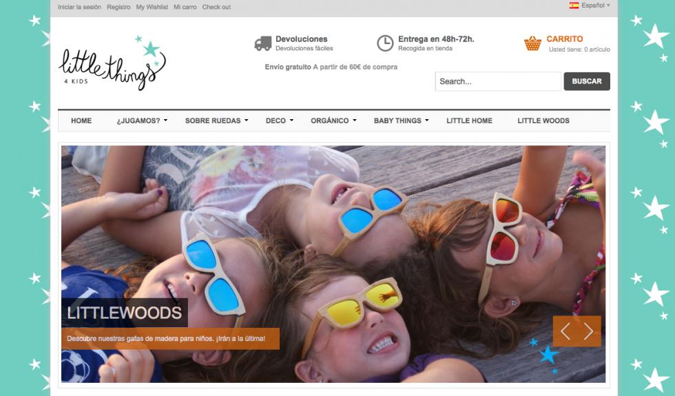 «Little things 4kids» una tienda online con corazón