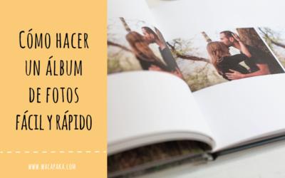 Cómo hacer un álbum de fotos fácil y rápido