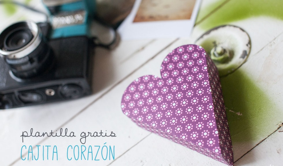 Una cajita con mucho love (plantilla incluída)