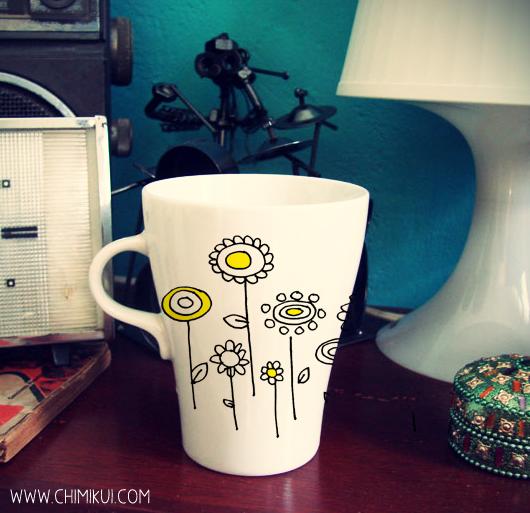 Con una taza as el desayuno sabe mejor wacapaka - Tazas decoradas a mano ...