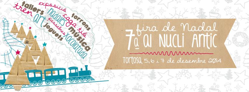 Cartel Fira de Nadal Tortosa 2014