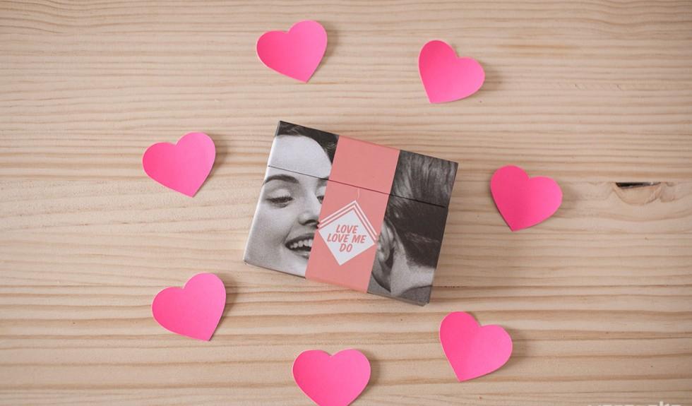 Tarjetones con foto para tus amores