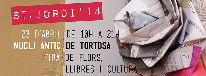 Cartel Sant Jordi 2014