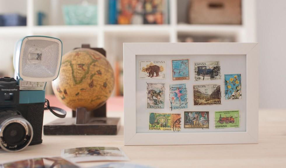Enmarcar sellos antiguos