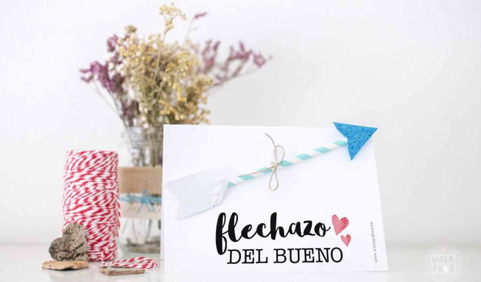 """""""Flechazo del bueno"""" con esta tarjeta!"""