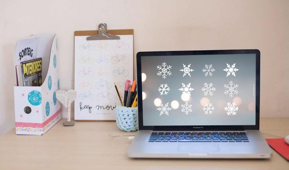 Decora tu ordenador con estos wallpapers navideños